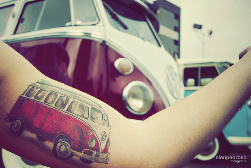 8 Amazingly wicked car tattoos