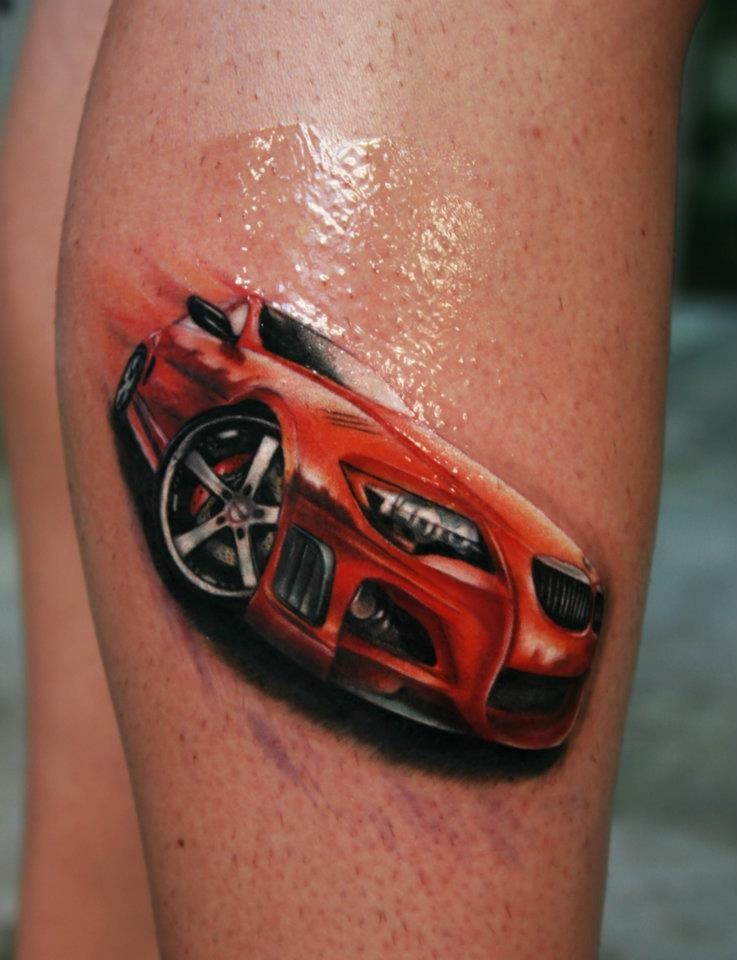bmw-m6-tattoo